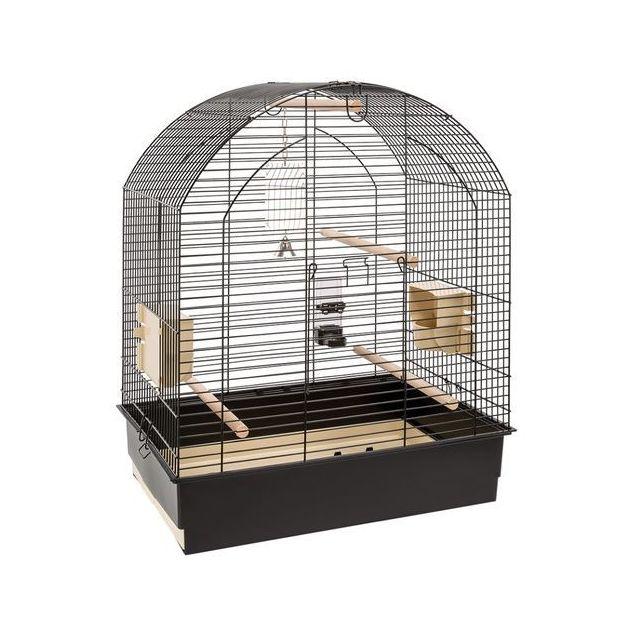 4f91b81bc7594a Ferplast - Cage petit perroquet Greta Black - pas cher Achat   Vente ...