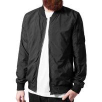 Beststyle - Veste bombers homme noir legere pas cher a la mode