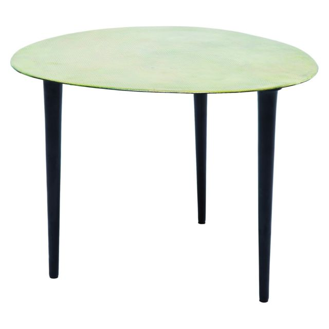 Karedesign Table Basse Design Egg Vintage Verte 46x49 Cm Kare