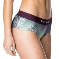 Pull-in - Pull In Shorty Femme Microfibre Fins Violet