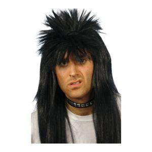 Cheveux noir et long