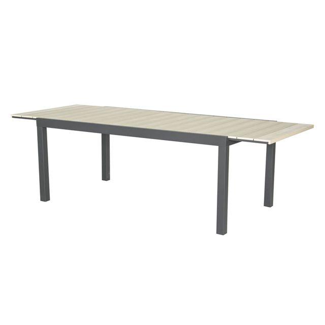 Alinéa - Gilles Table de jardin extensible en bois composite ...