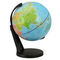 Kaptaia - Globe terrestre rotatif 11 cm
