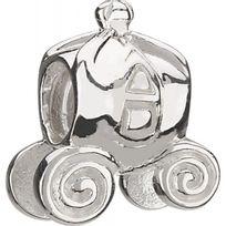 Chamilia - Charm en Argent - Collection Disney - Carosse Citrouille