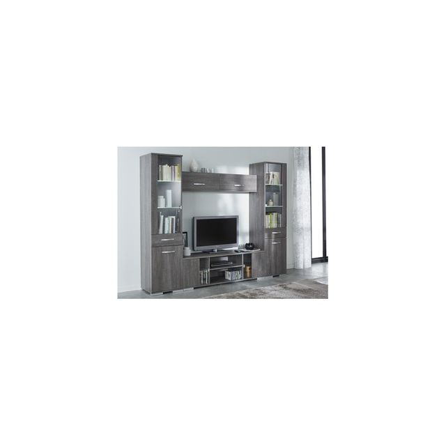 rocambolesk ensemble salon namur banc tv vitrine l ment mural pas cher achat vente. Black Bedroom Furniture Sets. Home Design Ideas