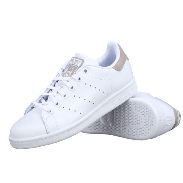 Adidas - Basket Stan Smith J Db1200 Blanc / Gris - pas cher ...