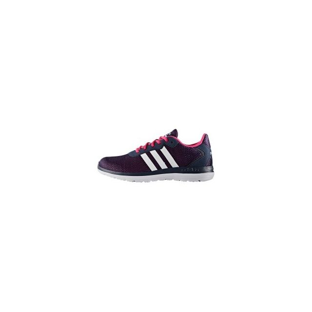 the latest bf6ce 5a5c5 Adidas - Chaussures neo Cloudfoam Speed bleu rose femme - pas cher Achat    Vente Baskets homme - RueDuCommerce