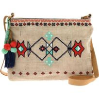 Nice Things - Sac Bandouliere Tribal – Pompon