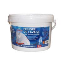 Ecness - Poudre de lavage assainissante pour lave-vaisselle - 3 Kg
