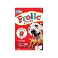 Frolic - Croquettes completes - au boeuf frais, carottes et céréales - pour chien - 1,5kg