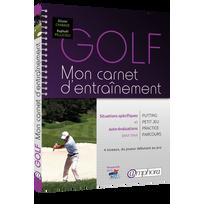 Editions Amphora - Golf - Mon Carnet D'ENTRAÎNEMENT