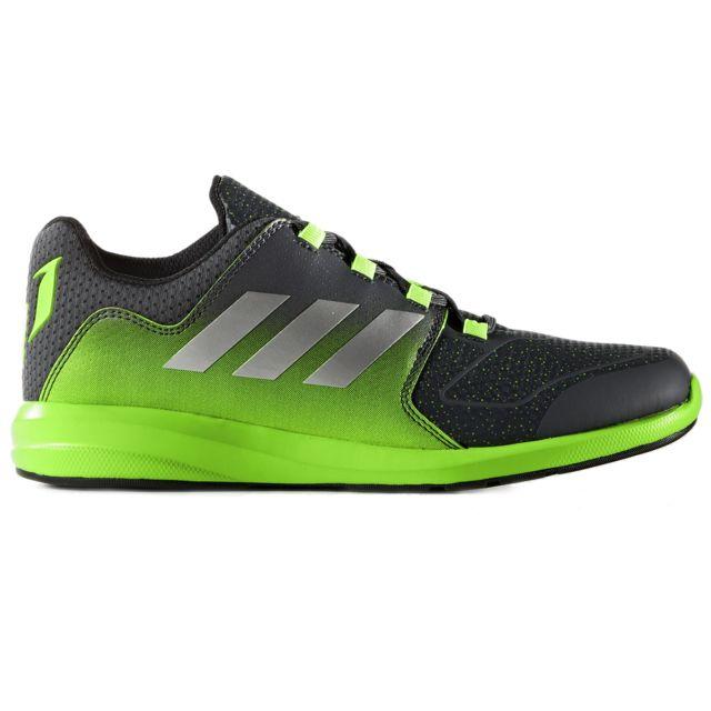 Adidas - Messi K Chaussure Garçon - Taille 38 2 3 - Gris - pas cher Achat   Vente  Baskets enfant - RueDuCommerce 64315de65d70