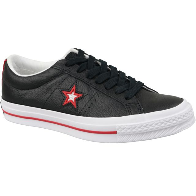Converse One Star 163246C baskets pour homme Rouge