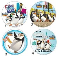 Sans - Disque Azyme Mod Les Pingouins de Madagascar Gâteau Enfant 21cm - 364-2