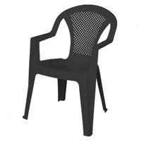Areta - Chaise de Jardin Ischia Anthracite