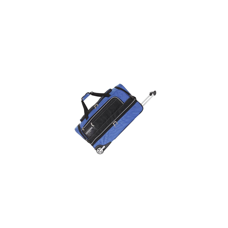26899f0eba RENOMA- Sacs à Roulettes Sac à Roulettes Double Compartiment - Heston Bleu  Double Compartiment