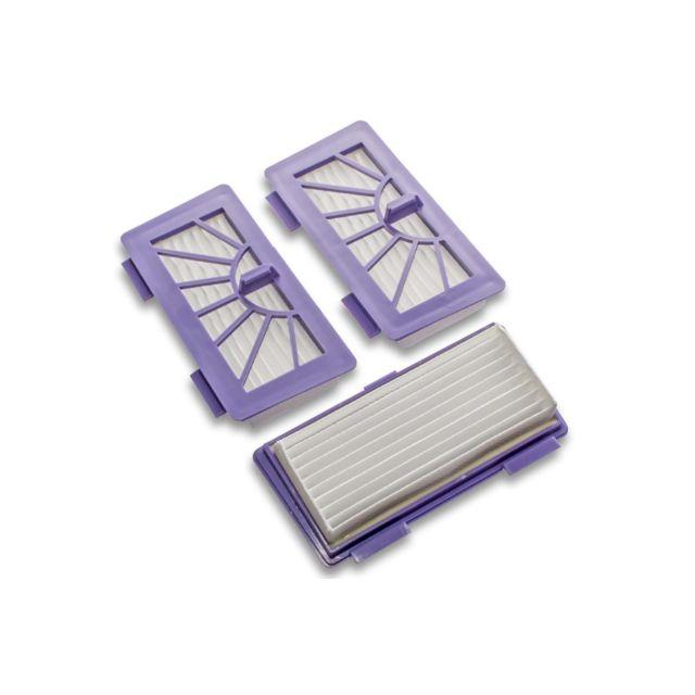 3x Hepa Filtre Set Allergie pour Neato XV Essential