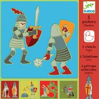 Djeco - Pochoirs Chevaliers