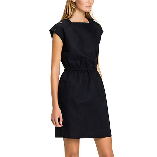 Tommy Hilfiger Maia Dress SS Robe Femme: