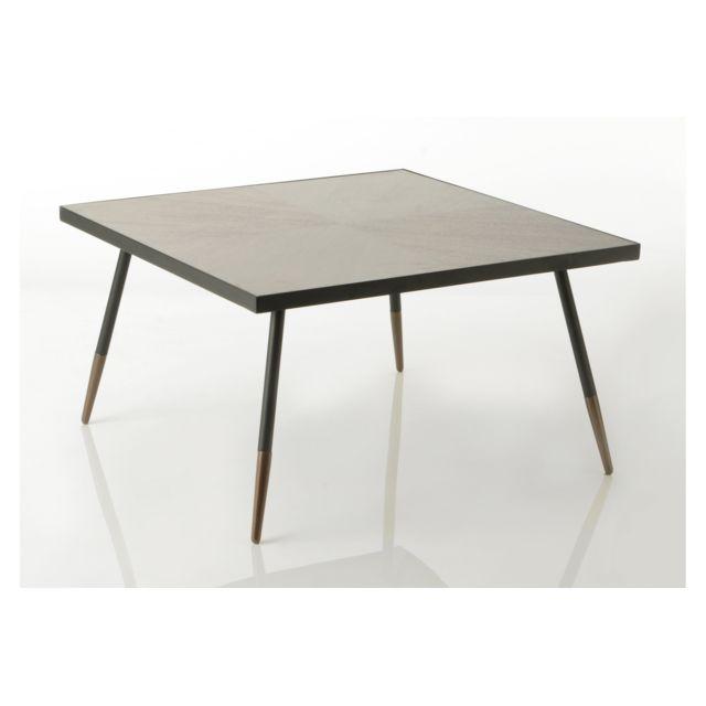 HELLIN Grande Table basse carré Hoffman