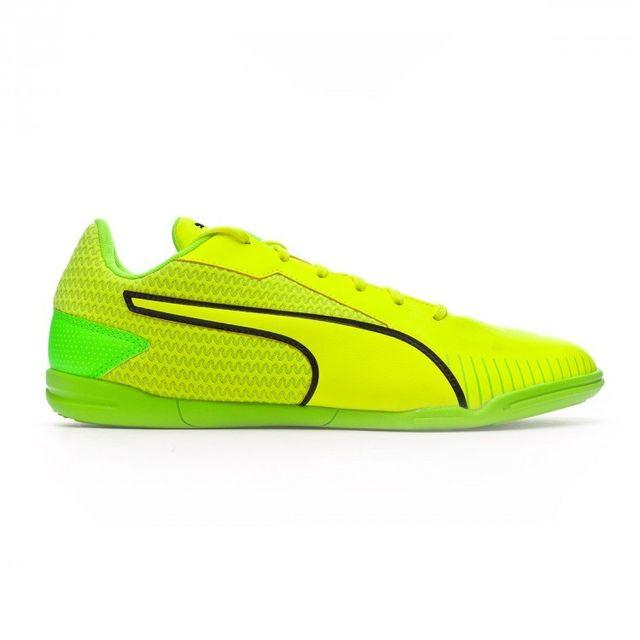 Puma Chaussure de foot en salle 365 Ct Yellow Black Green