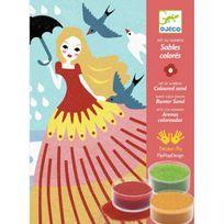 Djeco - Sables colorés : Belles en balade