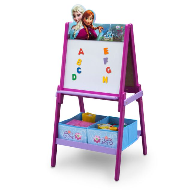 disney la reine des neiges tableau double face avec. Black Bedroom Furniture Sets. Home Design Ideas