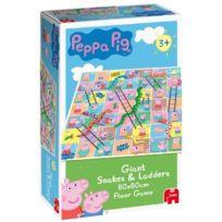 Jumbo - Peppa Pig Jeu d'Echelles et Serpents Langue: anglais