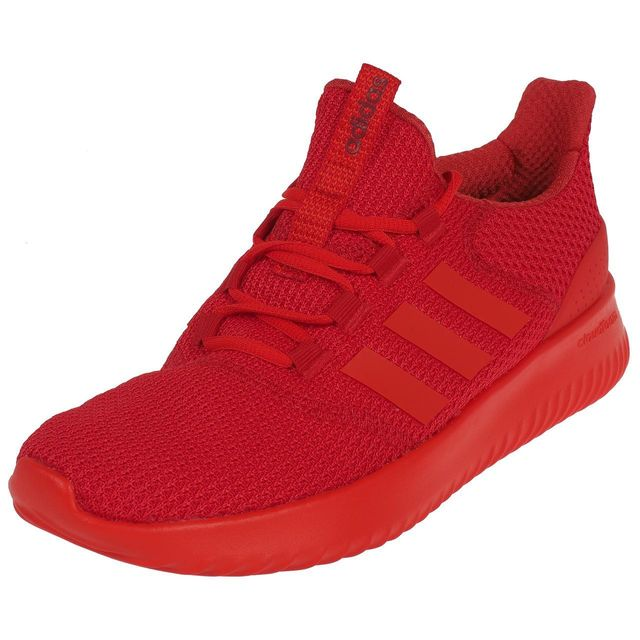Adidas Neo - Chaussures running Cloudfoam ultimate rouge Rouge 74975