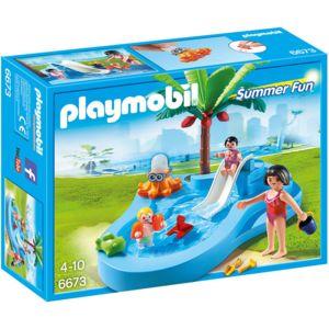 Grand PLAYMOBIL   Bassin Pour Bébés Et Mini Toboggan   6673 Galerie