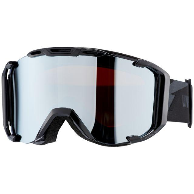 e4fb1478bbaafa Uvex - snowstrike Fm - Lunettes de protection - noir - pas cher Achat    Vente Masque snowboard - RueDuCommerce