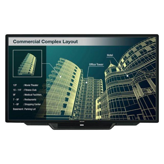 "Sharp Pn80TC3 Big Pad afficheur tactile 80 Sharp Pn80TC3 Big Pad afficheur tactile 80"""