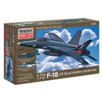 Minicraft - F-18 Centennial Usn Aviation With 2 Marking Options Model Kit, 1/72 Scale