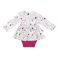 Petit Beguin - Body tunique bébé fille Poetic Moon - Taille - 9 mois 74 cm