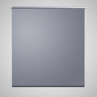 vidaxl store enrouleur occultant 160 x 230 cm gris pas cher achat vente store compatible. Black Bedroom Furniture Sets. Home Design Ideas