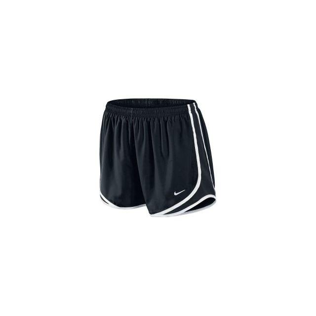 Nike Short Tempo Track Short noir blanc femme pas cher