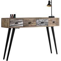 console 30 cm profondeur achat console 30 cm profondeur pas cher rue du commerce. Black Bedroom Furniture Sets. Home Design Ideas