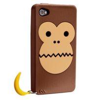 Case Mate - CaseMate iPhone 4/4S - Creature Bubbles Singe Monkey - Brown