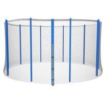 Set trampoline Ø 457 cm avec accessoires