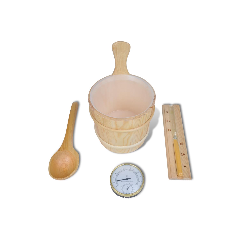 Vidaxl - Set d'accessoires de sauna 5 pièces