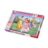 Trefl - Puzzle 24 pièces maxi - Les princesses Disney