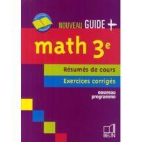 Belin - Math 3e 2008