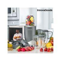 Marque Inconnue - Mixeur en Verre avec Livre de Recette Nutri-One Touch InnovaGoods 600W Gris