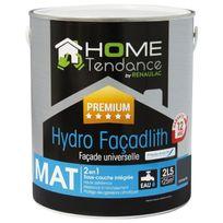 Home Tendance - Peinture façade universelle Hydro Façadlith hydropliolite 2.5 L gris anthracite mat - by Renaulac