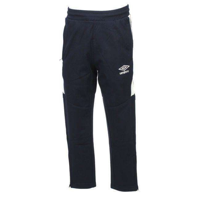 Umbro - Pantalon joueur Entrainement new jr foot Bleu 74164