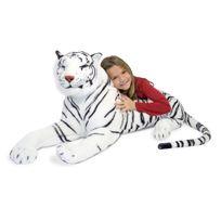 Melissa & Doug - Tigre Blanc en peluche