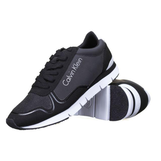 Achat Pas Klein Calvin Reflex Chaussure Jude Noir Cher Nylon 81xv6pwq