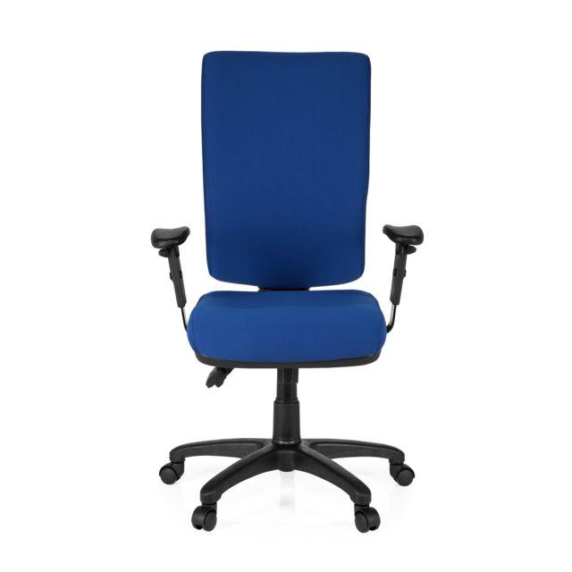 Hjh Office Siège bureau / Siège de direction Zenit High, bleu