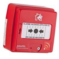 Kaufel - 534130 - Déclencheur manuel rouge radio sans fil