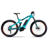 """Haibike - Xduro FullSeven 6.0 - Vtt électrique tout suspendu - 27,5"""" bleu/turquoise"""